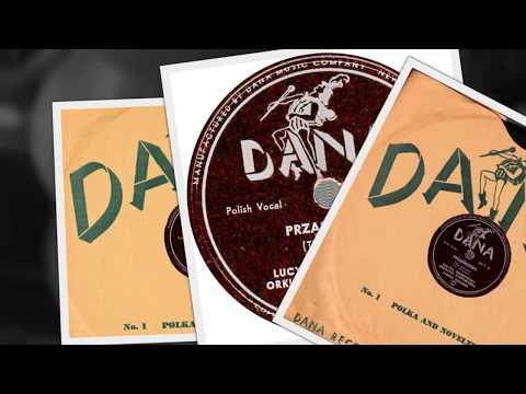 Polish 78rpm recordings, ca 1955. DANA 6017. Prząśniczka / Pieśń wieczorna
