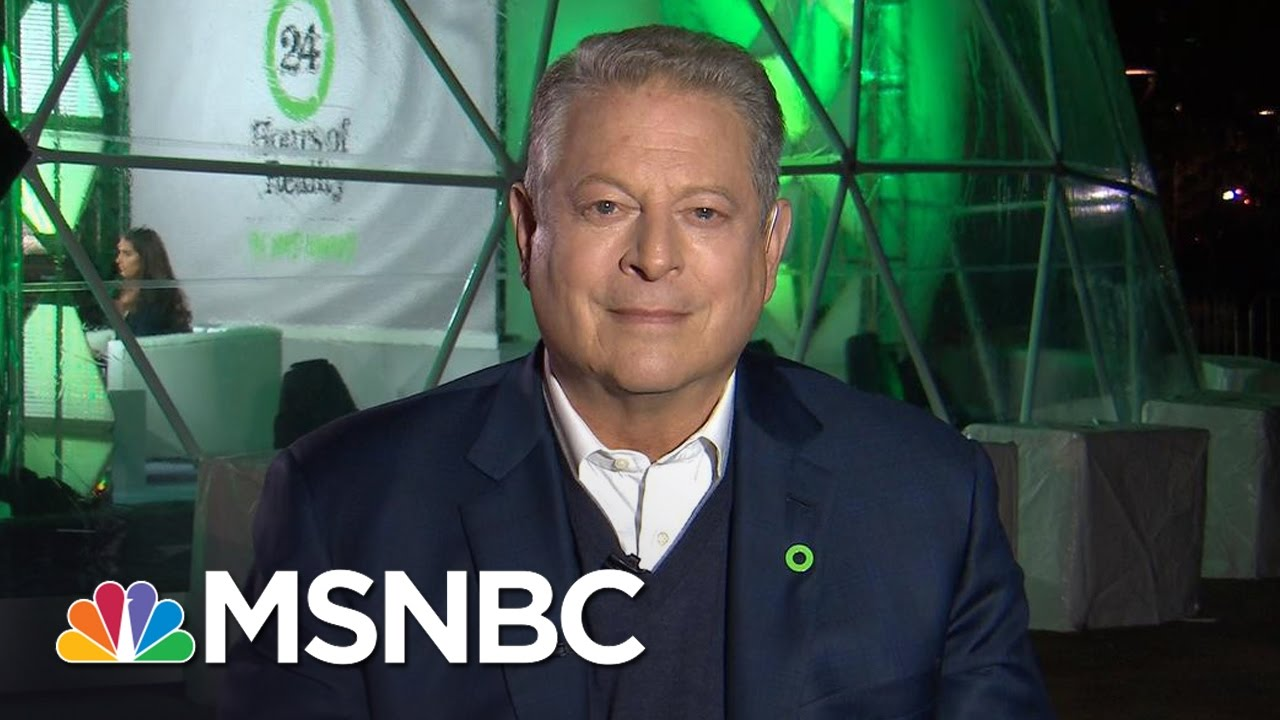 Al Gore Talks Meeting With Donald Trump , Climate Change, Electoral College | All In | MSNBC thumbnail