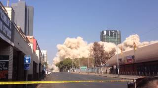 preview picture of video 'Munitoria Implosion, Pretoria (7 July 2013) [HD]'
