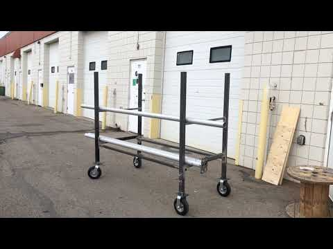 A Beast Is Born - Custom Heavy Duty Tent Pole Cart