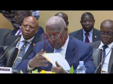 Uganda-Rwanda officials meet at Munyonyo