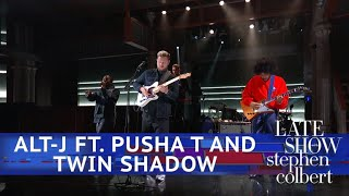 Alt J Ft. Pusha T And Twin Shadow Perform 'In Cold Blood'