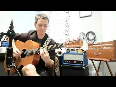 "Here's me playing ""The Roundobe Rag"""
