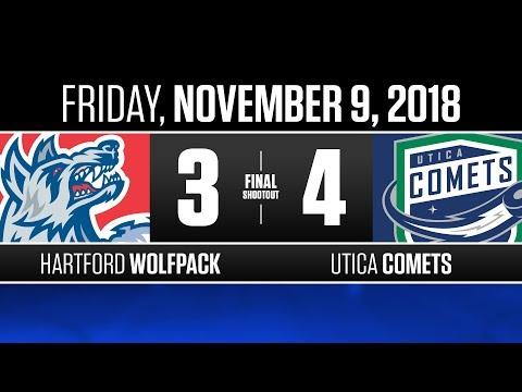 Wolf Pack vs. Comets | Nov. 9, 2018