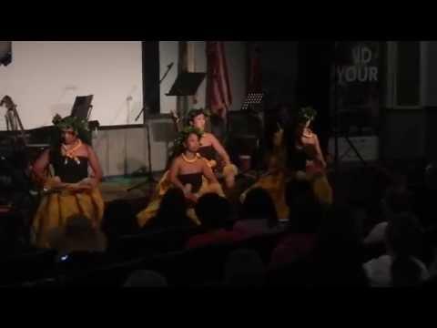 ハワイ留学生活 ハワイ火山国立公園フラショー