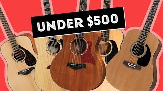 Tonys Top 5 Beginner Acoustic Guitars Under $500