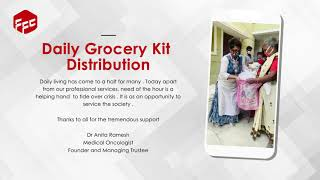 Groceries kit distribution