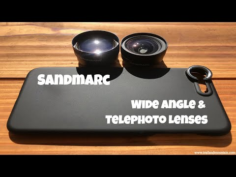 Sandmarc Wide Angle & Telephoto Lenses Review