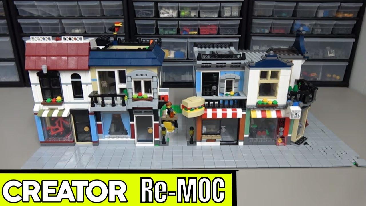 LEGO Creator Mini Modular Buildings Re-MOC