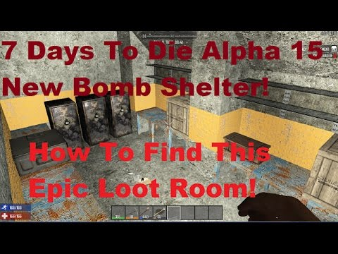 New Bomb Shelter Locations Navezgane And Random Gen 7 Days To Die General Discussions