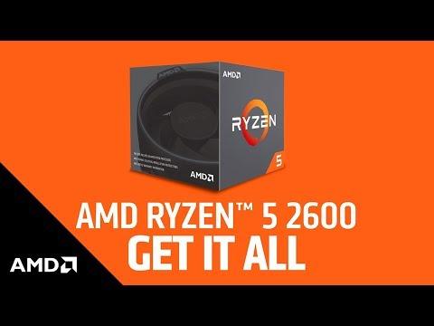 AMD Ryzen 5 2600 (AM4, 3.40GHz, 6-Core)