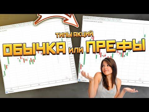 Типы акций: Обыкновенные или привилегированные акции / Какие акции покупать?