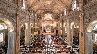 Cerimonia di benedizione dell'organo restaurato