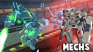 MECH Battle Simulator!? The Next Clone Drone In The Danger Zone? (Garrison Archangel Demo Gameplay)