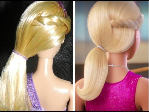 Penteado Barbie Rock'n Royals