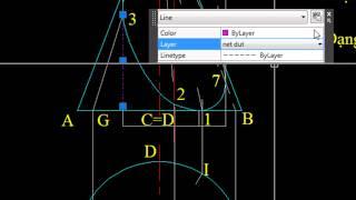 Video Bài giảng đồ họa kỹ thuật: Trụ chiếu giao nón