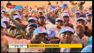 Kinyang'anyiro 2017: Azimio la Makueni 2/4/2017