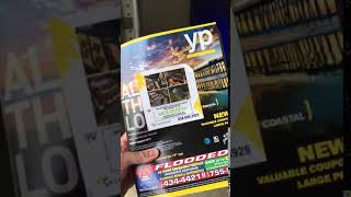 Yellow Pages phone book