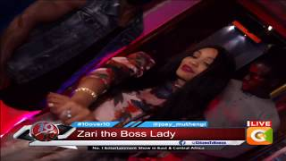Zari's Glamorous Entrance To The Show #10Over10