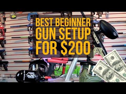 Best Beginner Paintball Gun Setup For $200! – March 2017