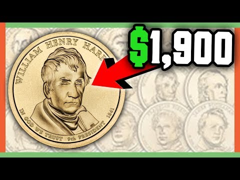 RARE PRESIDENTIAL DOLLAR COINS WORTH MONEY - GOLD DOLLARS WORTH MONEY!! Mp3