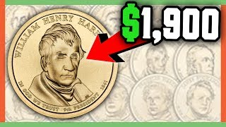 RARE PRESIDENTIAL DOLLAR COINS WORTH MONEY - GOLD DOLLARS WORTH MONEY!!