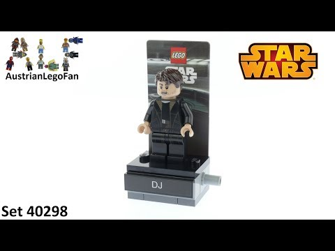 Vidéo LEGO Star Wars 40298 : DJ (Polybag)