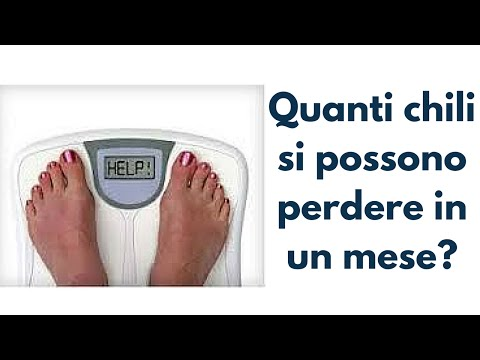 Come in 5 minuti per buttare 5 kg