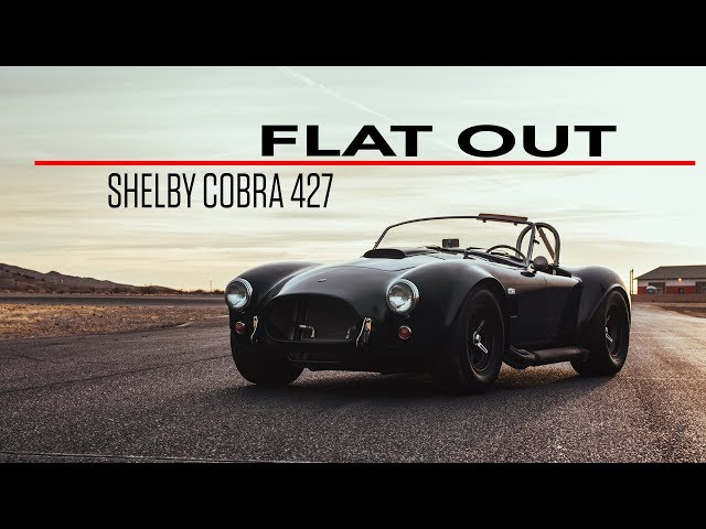 Flat Out in a 2008 Shelby Cobra 427 continuation car