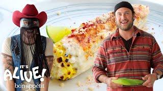 Brad and Orville Peck Make Elote | It's Alive | Bon Appétit