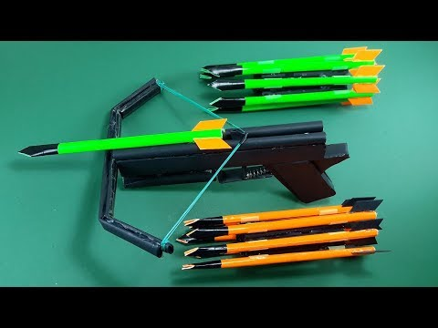 How To Make a Paper CROSSBOW   Toy Weapons   By Dr. Origami