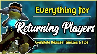 Returning Player To Guild Wars 2 In 2020? Heres What To Do! | Release Timeline - GW2 Guide