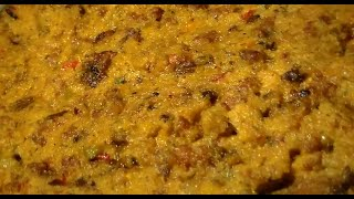 The Best Cornbread Stuffing Recipe: Southern Cornbread Dressing With Gizzards