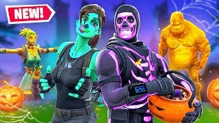 The Halloween Skin Challenge In Fortnite!