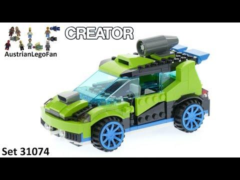 Vidéo LEGO Creator 31074 : La voiture de rallye