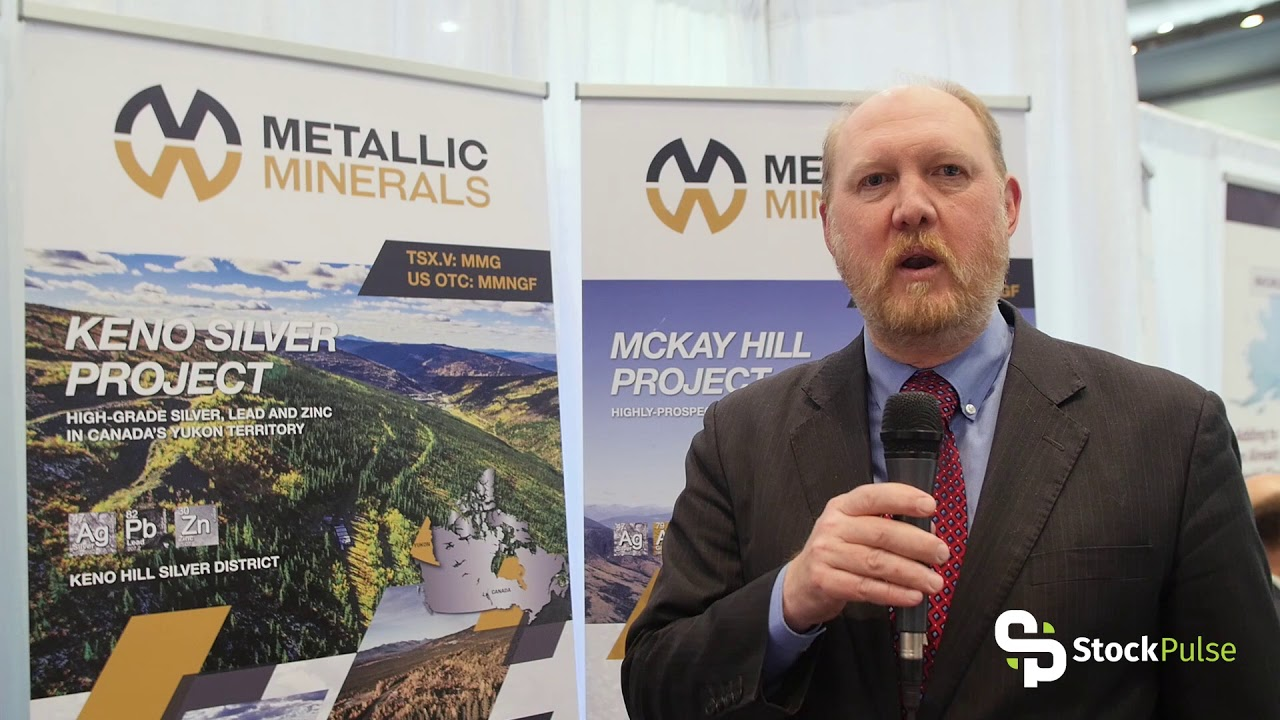 Metallic Minerals Catalyst Clip with President & CEO Greg Johnson at the 2018 PDAC in Toronto