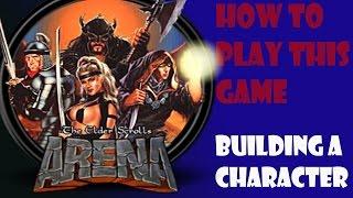 Let's Play The Elder Scrolls: Arena Part 1 | Stil Gameplay