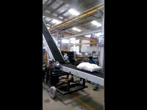 Bag Stacker Cum Truck Loading Conveyor