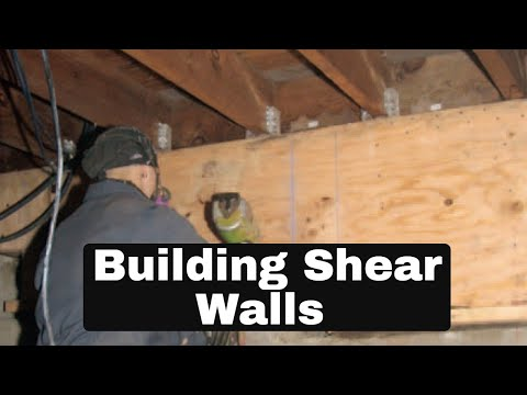 SHEAR WALL CONSTRUCTION - 8 IMPORTANT TIPS