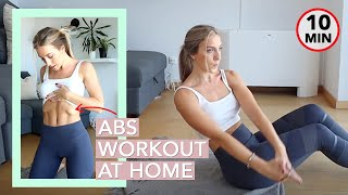 Abs Workout For Women - Beginners At Home