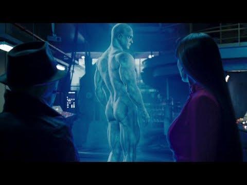 IMAX. Rorschach visits Dr. Manhattan   Watchmen [+Subtitles]