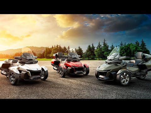 2021 Can-Am Spyder RT Sea-to-Sky in Roscoe, Illinois - Video 1