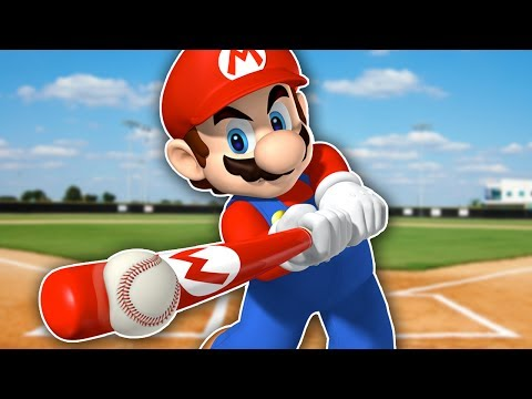 MARIO SUPERSTAR BASEBALL | BACKYARD BASEBALL BUT WITH MARIO (FUNNY MOMENTS)