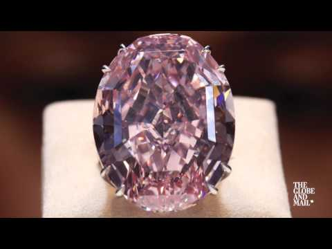 Flawless pink diamond sells for record price