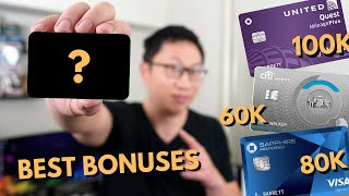 Best Credit Card Signup Bonuses May 2021 | Up to 100k Points
