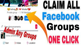 How To Claim Facebook Group Without Admin 2020 | Big Group Claim | Become Admin Of Any FB Group