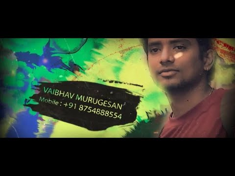 Vaibhav Murugesan- Actor's Showreel