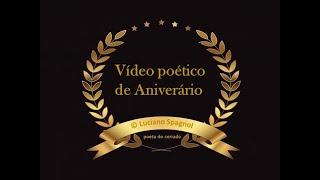 Feliz Aniversário! Parabéns Pra Você! Por Luciano Spagnol.wmv