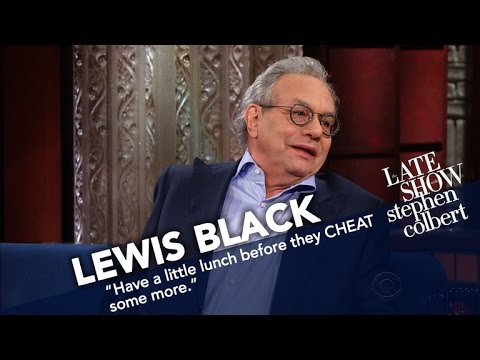 Lewis Black Rates Trump's First Week