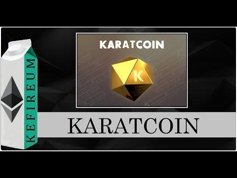 Золото и крипта. Karatcoin ICO